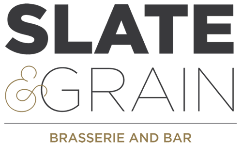 Slate and Grain Brasserie and Bar Logo